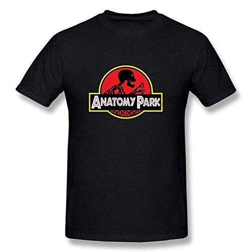 Men's Anatomy Park Rick And Morty T-shirt M