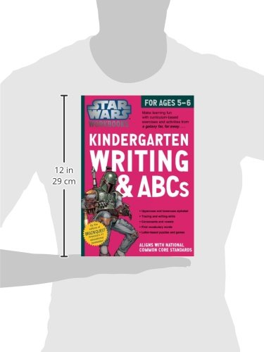 Star Wars Workbook: Kindergarten Writing and ABCs (Star Wars ...