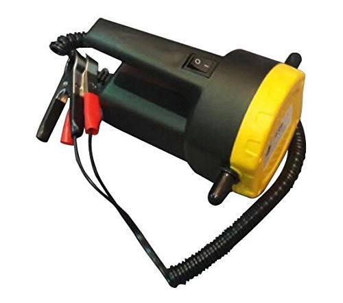 Motor Oil Fuel (ALEKO BST1017 12V 5A DC Motor Fuel Oil Diesel Extractor Scavenge Suction Transfer Pump with Hose)