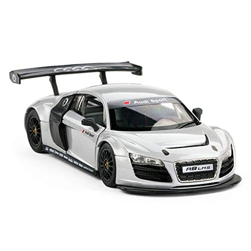 DNSJB Alloy Models Cars 1:24 Audi R8 Original Style Die-Cast Collectors Model Car Decoration Crafts