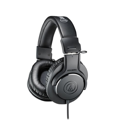 Audio Technica Ath M50 Headphones (Audio-Technica ATH-M20x Professional Monitor Headphones)