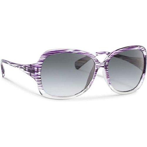 Forecast Dixie Purple Stripe Gray Gradient - Bum Eyewear