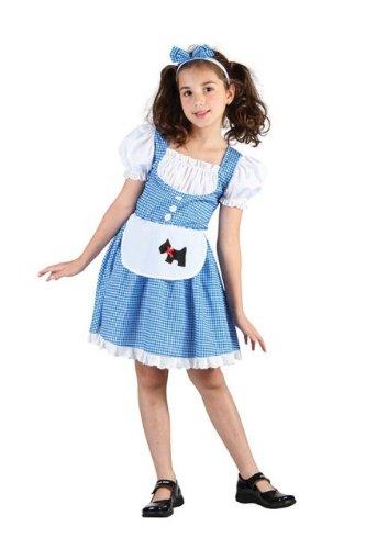 [Dorothy Wizard of Oz Childs Fancy Dress Costume - M 134cms] (Dorothy Costume Uk)