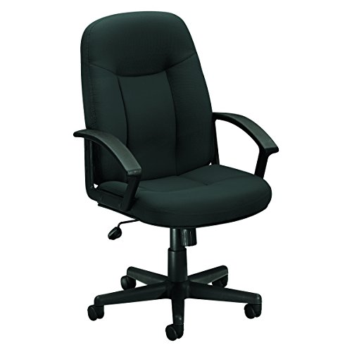 High Back Swivel Tilt Chair - HON Executive High-Back Swivel/Tilt Chair, Charcoal Fabric/Black Frame (HVL601)