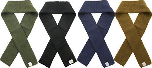 US Army Genuine GI Military Wool Scarf, US Made Warm Winter Neck Scarf
