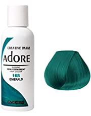 Adore Shining Semi Permanent Hair Color, Emerald, 118 ml, Pack of 1