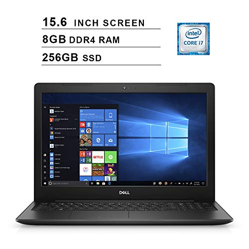 2020 Dell Premium Inspiron 15 3583 15.6 Inch FHD Laptop (Intel Core i7-8565U up to 4.6 GHz, 8GB RAM, 256GB SSD, Intel…
