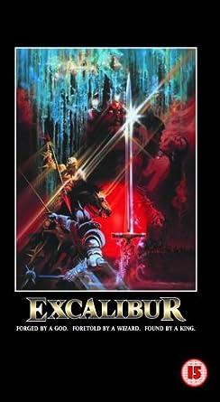 Excalibur Vhs Nigel Terry Helen Mirren Nicholas Clay Cherie