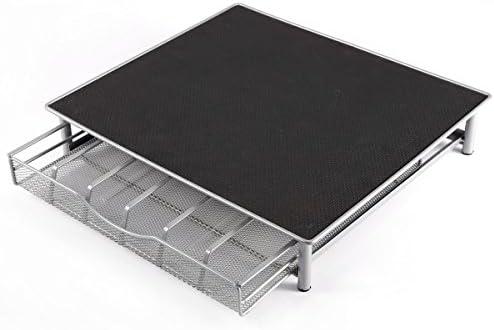 Soporte para 36 cápsulas de cafetera y cajón de almacenamiento: Amazon.es: Hogar