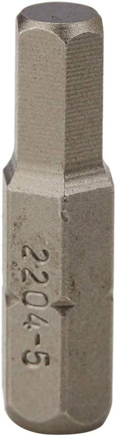 Hazet 2204-3 Embout-tournevis hexagone massif 1//4//profil /à 6 pans int/érieurs Taille 3 longueur/ 25 mm