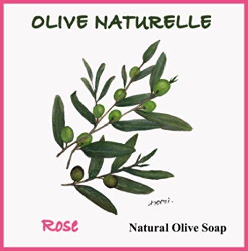 シャーロックホームズモスク恵みOlive Naturelle Rose Soap Bar
