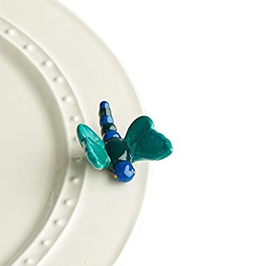 Nora Fleming Hand-Painted Mini: Dreamy Dragonfly (Blue Dragonfly) A206