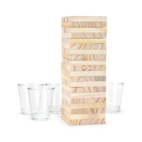 True Fabrication SS-TRU-3705 3705 Stack Group Drinking Game Multicolor