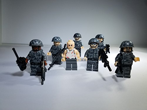 Delta Force / SEAL Team Six Hostage Rescue Minifigure