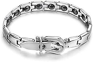 Stylish and Elegant Energy Health Care Magnet Titanium Bracelet for Men