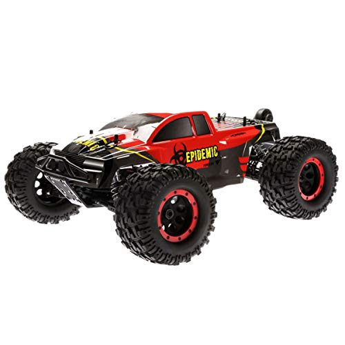 - Force RC 1/8 Epidemic 4WD Monster Truck Brushless RTR