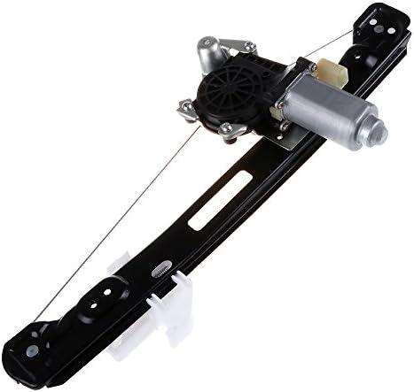 車&バイク  cciyu リアレフトドライバーサイドパワーウィンドウレギュレーター モーターアセンブリ交換用