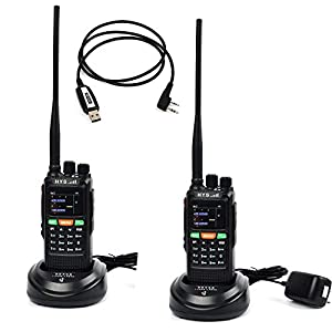 15. HYS 10W GPS Handheld Ham Radio 136-174Mhz&400-520 Mhz Long Distance Walkie Talkie 7.4V 4500Mah Transceiver