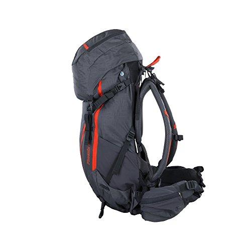 Portal Phoenix 55 L Rucksack Tourenrucksack mit Regenschutz Trekkingrucksack mit Trinksystem, Rückenlänge Hüft- & Schultergurte einstellbar Wanderrucksack mit Fächern Taschen Rückenbelüftung