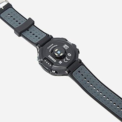 Garmin 010-03717-66 Forerunner 235 with Wrist Based Heart Rate Monitoring, Black/Solar Flare