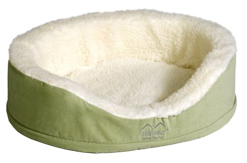 MidWest Quiet Time e'Sensuals Orthopedic Nesting Bed, 25 Diameter, Sage (Sensual Sage)