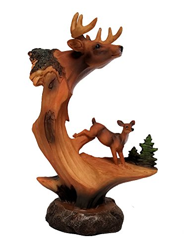 g Look Figurine of Buck and Doe, 9