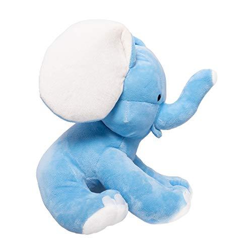 Squishatoy Elephant Stuffed Animal Plush Toy For Baby Girls Boys