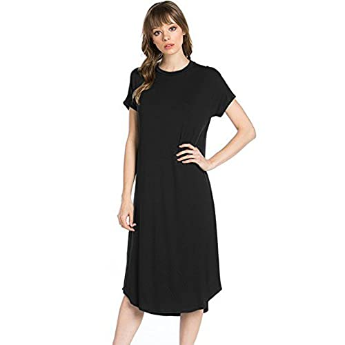 Mid Length Dresses with Sleeves