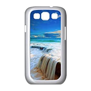 Beach Samsung Galaxy S3 9300 Cell Phone Case White cmrx