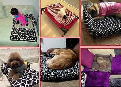 FidgetGear Cuscini del Divano Pet Cane Gatto griglia Tappetino Tappetino Tappetino Ricamato Full- Lavabile Cuscino Letto 531139