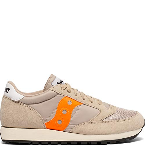sale retailer 57e6a 03439 Saucony Originals Men s Jazz Original Sneaker, tan Orange, ...