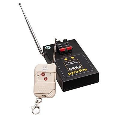 2canaux Système d'allumage pour inflammateurs/Pont électrique/Pyro/Radio Système d'allumage