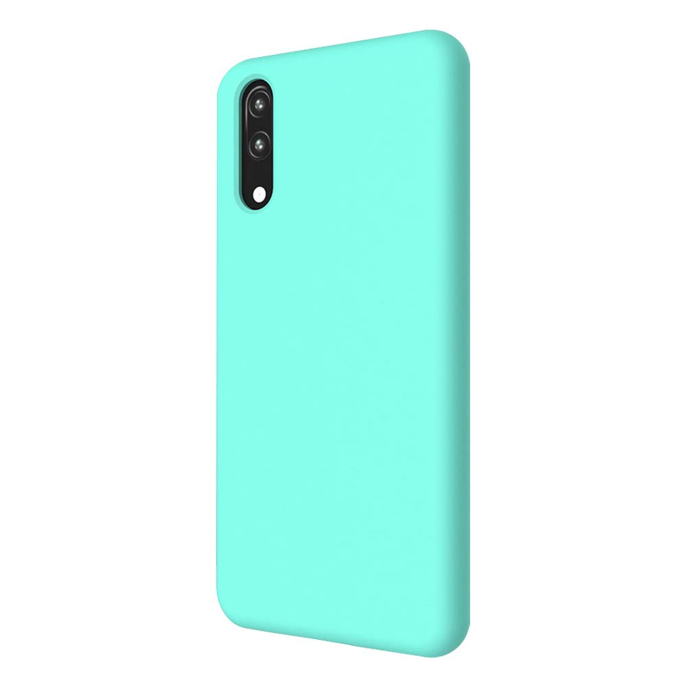 CoverTpu Coque Samsung A10 Silicone Samsung A10 Ultra Mince Couleur Unie TPU /Étui Antichoc Protection Bumper Ultra L/éger Soft Flexible Antirayures Case Cover Silicone Vert