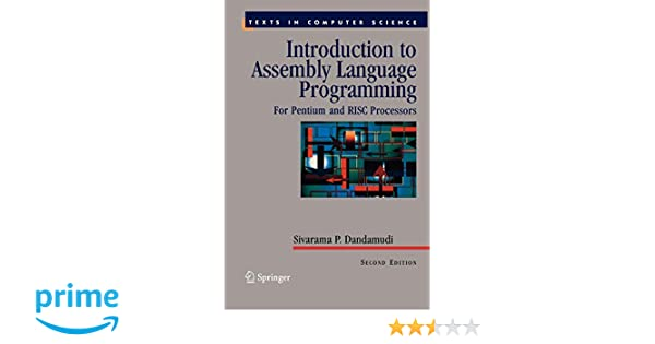 Introduction to Assembly Language Programming: For Pentium