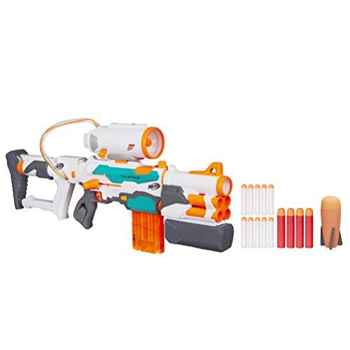 Hasbro Nerf B5577EU4 - N/Tri Strike Elite Modulus Blaster, Spielzeugblaster