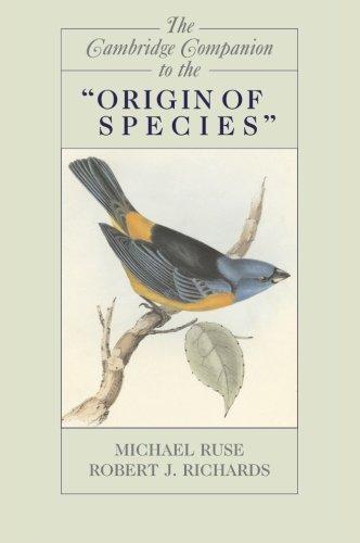 The Cambridge Companion to the 'Origin of Species' (Cambridge Companions to Philosophy)