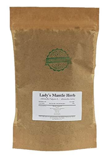 Spitzlappige Frauenmantel Kraut/Alchemilla Vulgaris L/Lady's Mantle Herb # Herba Organica # Gemeiner Frauenmantel, Gewöhnlicher Frauenmantel (100g)