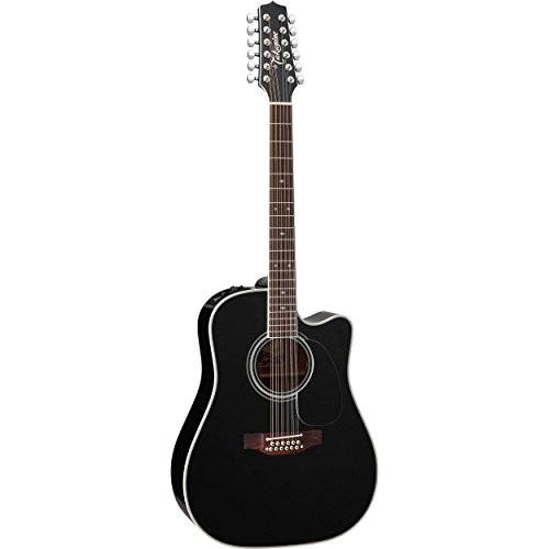 (Takamine EF381SC 12-String Acoustic-Electric Cutaway Guitar)