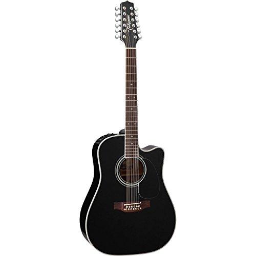 - Takamine EF381SC 12-String Acoustic-Electric Cutaway Guitar