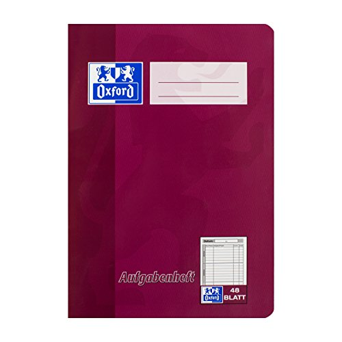 Oxford 100057951 Exercise Book A5 48 Sheets Assorted