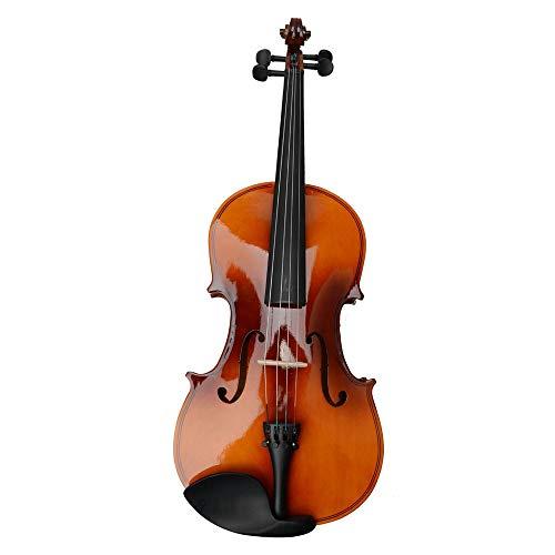 Jskjlkl Acoustic Viola Case Bow Rosin (Color : Brown)