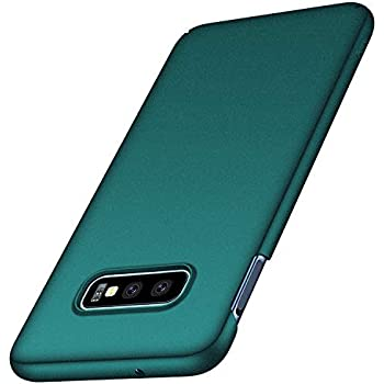 Anccer Compatible for Samsung Galaxy S10e Case [Colorful Series] [Ultra Thin Fit] Premium PC Material Slim Cover for Samsung Galaxy S10e - Gravel Green