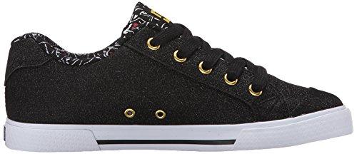 Dc Femmes Chelsea X Tr Chaussure De Skate Noir Imprimer