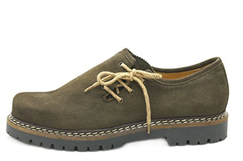 dirndl + bua , Chaussures de ville à lacets pour homme marron altbraun