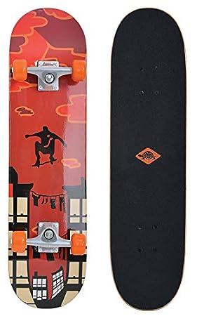 Schildkröt Skateboard Kicker 31, Tabla Completa con ...