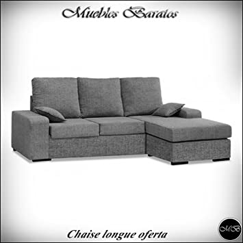 Home Actually Sofas 3 plazas Chaise Longue para Salon Sofa ...