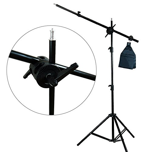 LimoStudio Photography Photo Studio Foldable Photo Shooting Table, Background Clamps with Boom Stand Softbox Continuous Lighting Kit , AGG1477V2 by LimoStudio (Image #6)