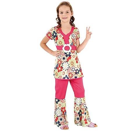 Disfraz hippie para niña - 10-12 años: Amazon.es: Juguetes y juegos