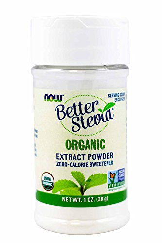 (NOW Stevia White Extract Powder, 1-Ounces (Pack of 2))
