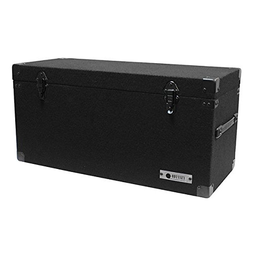 Record Case Holds - Odyssey CLP180E Carpeted LP Record Case Holds up to 180 Vinyl Records